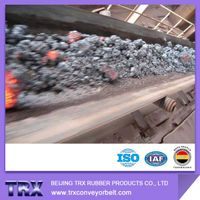 newest Fire resistant EP200 rubber conveyor belt in 2015