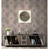 106M Modern Design 3D PVC Wallpaper European Wallpaper