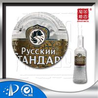 3D Water transfer Decal for Glass Bottle