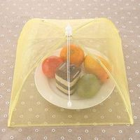 folding rectangular food cover nets/mesh table food cover china factory