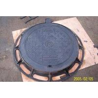 China Factory En124 Standard Ductile Iron Manhole Covers With Logo Deisgn