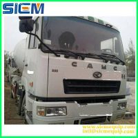 Used concrete mixer, used ZOOMLION/SANY concrete mixer truck