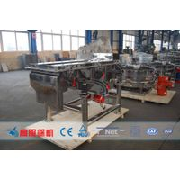 Vibrating screen for food industry