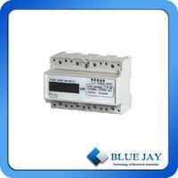 LCD Display Three Phase DIN Rail Mini Power Meter XTM1250SA