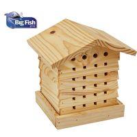 Big Fish Contemporary Handmade Wooden Bird Houses Nest