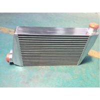 Automobile Radiator intercooler charge air cooler plate fin heat exchanger charge air cooler