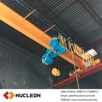 EOT bridge single girder overhead crane 25 ton