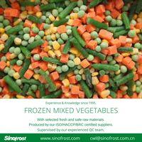 IQF mixed vegetables,Frozen mixed vegetables,Frozen Vegetables Blend thumbnail image