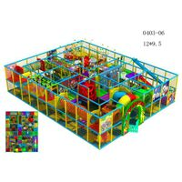 Indoor play structure for children QF-I04-0306 thumbnail image