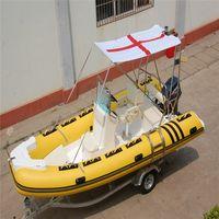 RIB-520 5.2m fiberglass fishing boat for sale thumbnail image
