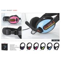 2015 nice design wired headphones with microphone for your computer