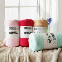 Home Textile Coral Fleece Blanket Comforter thumbnail image