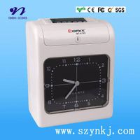 MT-6100 Punch Card Time Clock with Digital Display
