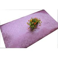Elegant decorative satin table runner for round table