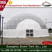Professional supplier quality Diameter 15 m geodesic dome tent for promotion