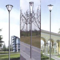 Garden lighting pole