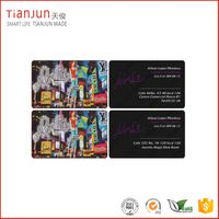 13.56MHz NTAG213 NFC Paper PVC PET Business Card