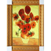 Cloisonne Handicraft Painting Van Gogh Abstract Home Decor Wall Art Gift