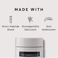 Multi-Peptide Eye Cream , Anti-Wrinkle, Reduce Under Eye Bags, Dark Circles, Puffiness and Crow's Fe thumbnail image