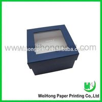 cheap small jewelry packaging box with clear window