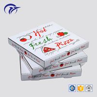 Hot sale customized printing food hamburger pizza packaging corrugated paper delivery gift box thumbnail image