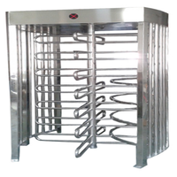 Luxurious Enterance Access System Automatic 90 degrees Full Height Turnstile