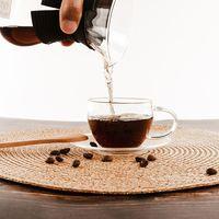 Hot Sale Glass Cup Small Glass Tea Cups Clear And Luxury Glass Coffee Tea Mug
