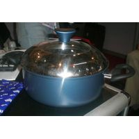 Carbon Steel Casserole Dutch Oven with 1/2 S/S lid