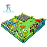 inflatable fantasy dinosaur fun city, inflatable dinosaur bounce house, Inflatable pvc bouncy castle thumbnail image