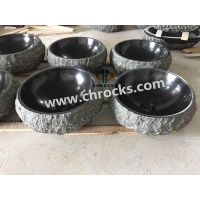 black granite bathroom wash basin