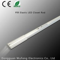 Motion sensor LED Elastic Closet Rod, LED cabinet light, LED light