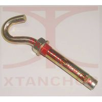 sleeve anchor with open hook