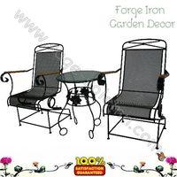 Iron Garden set Desk chair thumbnail image