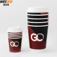 disposable double wall coffee paper cup ,hot drink paper cup thumbnail image