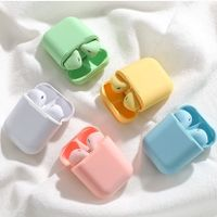 Wireless bluetooth earbuds i12 colorful