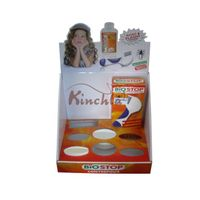 Kinchla  Cardboard Countertop  Display Racks