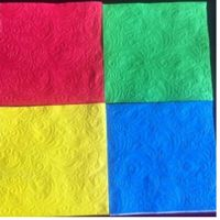 embossed paper napkin