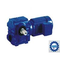 High Speed Helical Worm Gear Reducer / Gearbox Speed Reducer with Motor