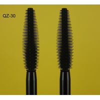 Private Label Naked Silicone Eyebrow Eyelash Mascara Brush Cosmetic Container White Manufacture QZ30