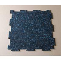 Interlocking Gym rubber mats flooring