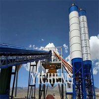 HZS concrete batching plant concrete mixing plant thumbnail image