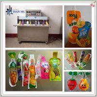 fruit juice soft drink in forming bag packing machine thumbnail image
