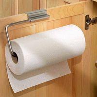 Over Cabinet Door Paper Towel Holder, Metal Wire thumbnail image