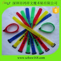 Mix-color wide use strong sticky cable ties thumbnail image