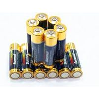 Customed alkaline LR6 battey cell  made in china