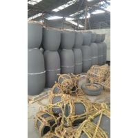 Melting aluminum/copper Hot sale graphite crucible for gas/electric/oil furnace 200kg thumbnail image