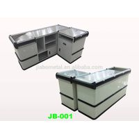 supermarket checkout counters for sale, retail cash desk,