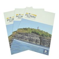 China Factory High Quality Professional Free Sample Art Paper Leaflet thumbnail image