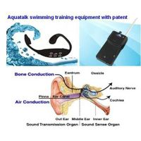 Bone conduction swimming teaching learning equipment thumbnail image