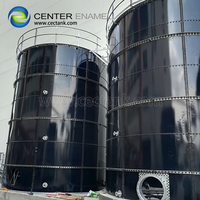 Dark Green Bolted Steel Tanks for Pharmacy Wastewater Treatment Project thumbnail image